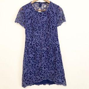 NORDSTROM // Pure Sugar Purple Lace Dress